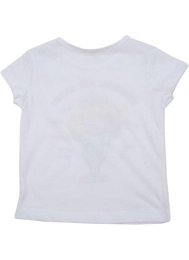 Zeyland Zeyland T-Shirt Beyaz Dondurma Desenli Beyaz